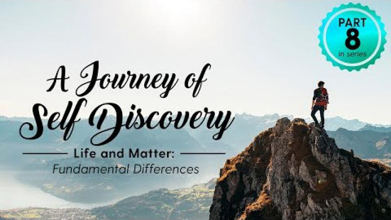 A Journey of Self Discovery #8 : Life and Matter: Fundamental Differences